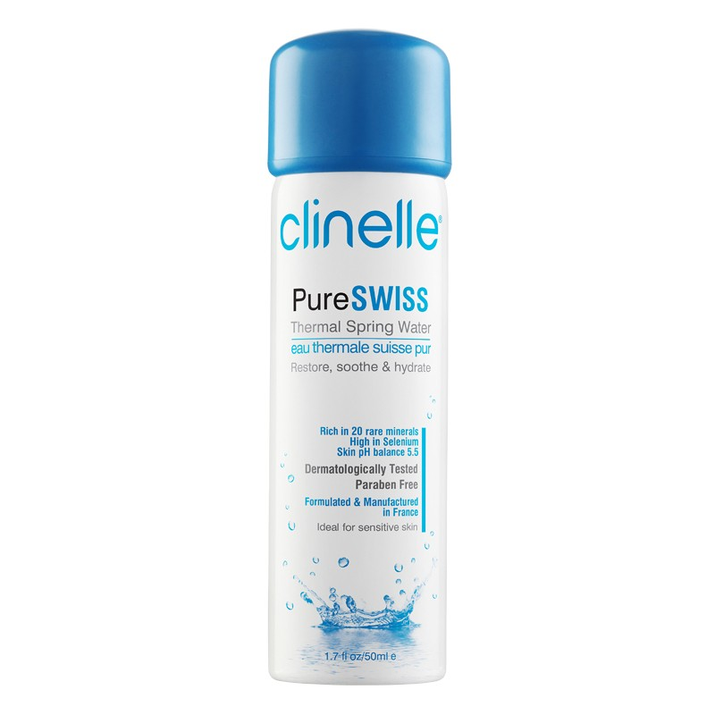 Clinelle PureSWISS Thermal Spring Water-50ml